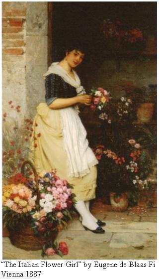 Italian Flower Girl